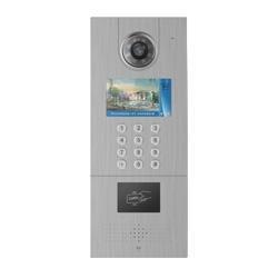 7寸液晶屏楼宇对讲门禁门口一体机 2