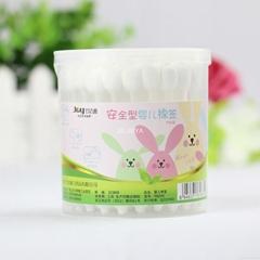 55pcs plastic stick cotton buds/cotton swab baby care sterile Q-tips manufacture
