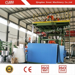 Water Tank Fully Automatic Pet blow Moulding Machines