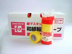 汽车喷漆用黄色胶带10MM
