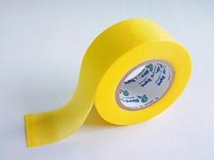 汽車噴漆高溫和紙粘着テープ50mm黃色膠帶