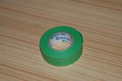 汽車噴漆高溫和紙粘着テープ8mm綠色膠帶