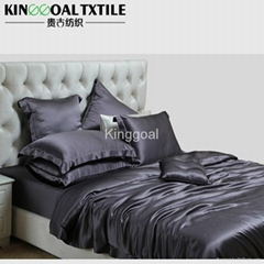 4 Piece California King 100% Mulberry silk 22mm Comforter Set