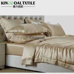 King Size 19 momme Seamless Silk Luxury Bedding sets