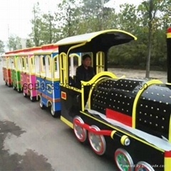 Tourist Battery Trackless Train