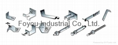 Stainless steel hanging hardware