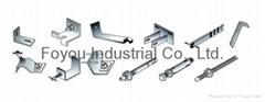 Stainless steel hanging hardware