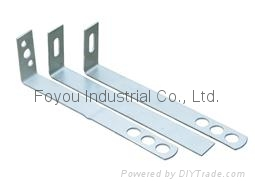 Stainless steel dry hanging bracket