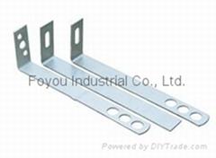 Stainless steel dry hanging bracket