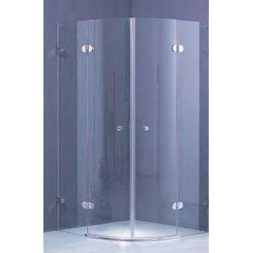 curved shower enclosure