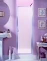Hing swing shower door