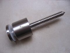 Stainless steel standoff glass fitting parts