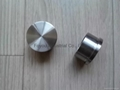 Stainless steel pipe fitting end cap