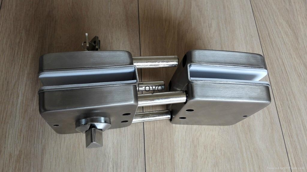 Stainless steel lock for glass door 4