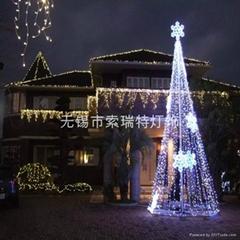 圣诞、节日装饰LED冰条灯串