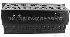 SG-8670TH视科16路数字编码机顶盒调制器