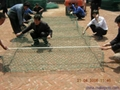 東北三省河道治理鉛絲石籠包塑格賓網 1
