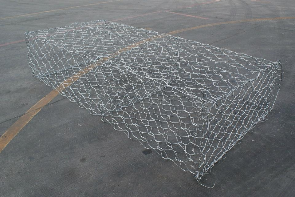 東北三省河道治理鉛絲石籠包塑格賓網 2