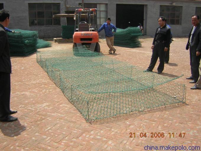 東北三省河道治理鉛絲石籠包塑格賓網 4