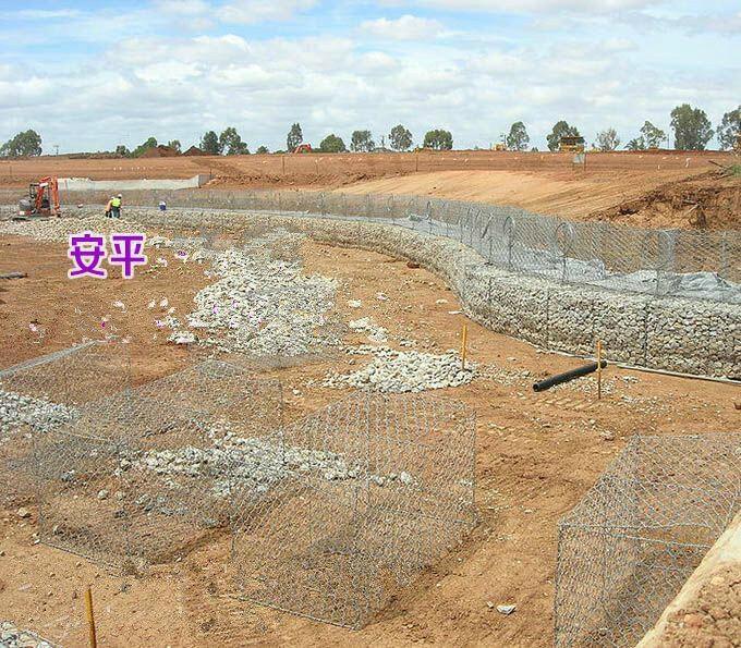 防護 專用格賓網包塑防生鏽固濱墊 3
