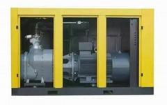 康可尔双级压缩机螺杆空压机