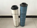 fireproof Dust collecting filter element