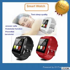 2017 hot sale U8 Smart Watch Andriod smart watch