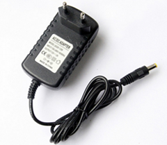 12W eu plug power adapter with CE