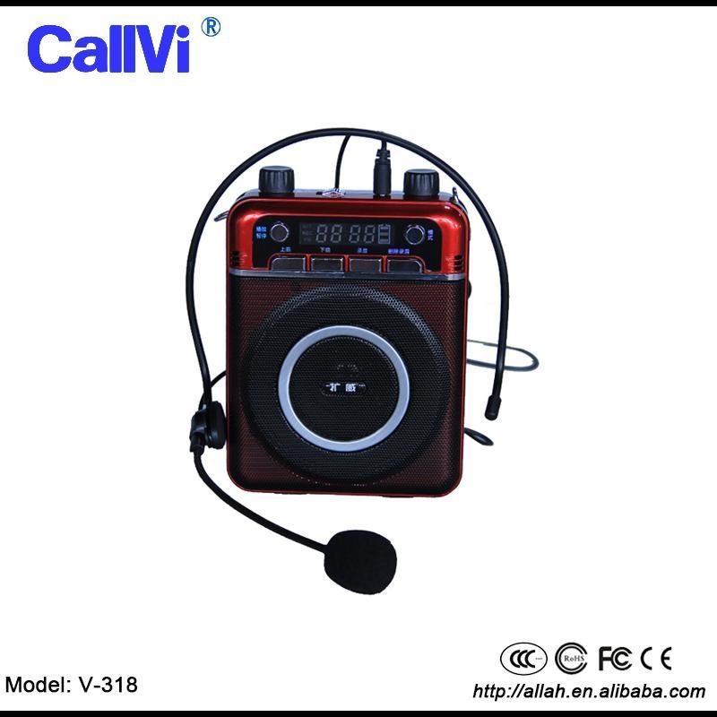 Wireless Mini PA system amplifier Portable Megaphone18w loudspeaker for teacher  1
