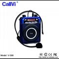 Wireless Mini PA system amplifier Portable Megaphone18w loudspeaker for teacher  2
