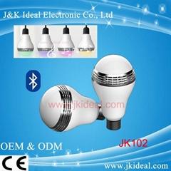 CE Smart e27  led bluetooth music led light bulb with speaker