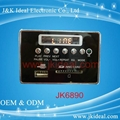 led usb sd fm radio bluetooth aux mp3