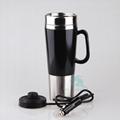 Bulk 12V Electric Metal Heat Car Cup Mug