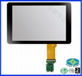Professional manufactory 8 inch 10 points projected capacitive touch panel 1