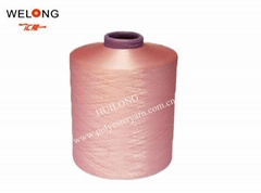 450d dope dyed sd polyester dty yarn for knitting