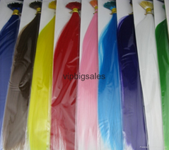 Factory wholesales feather hair extension