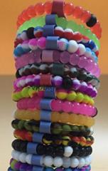 wholesales hot sales marine style silicone bracelets