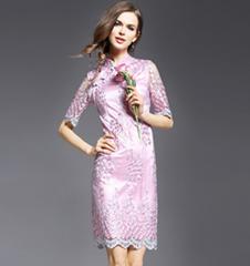 2016 Print Long dress ch