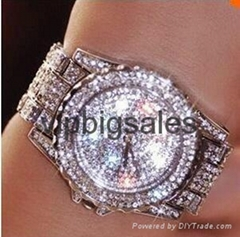 All Over Sky Star Steel Band Women Watch Authentic Diamond Lady Watch  (Hot Product - 1*)