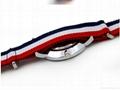 Stripe Nylon Fabric Canvas Sports wristwatch men Casual Watch  7