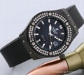 Europe and the United States popular leisure fashion drilling male lady watches