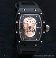 new Ghost Head Ghost Head silicone tape quartz MEN WATCH