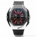 popular casual fashion men's silica gel quartz watch manufacturer direct sale.