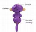 Factory Fingerlings Interactive Baby Monkeys  Christmas Gift Smart Toy