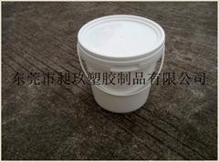 廣東生產銷售2L塑料桶塗料桶