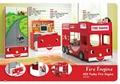 SMART KIDS Furniture 902-19 Fire engine bunk bed  1