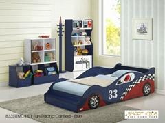 Kids car bedroom furniture set