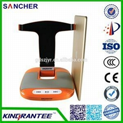 Orange Bluetooth Speaker Stand For IPad