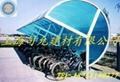 供應自行車遮雨棚專用PC耐力板