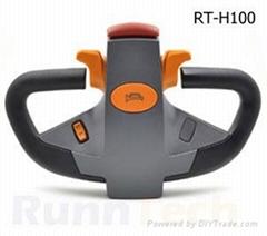 RunnTech electric pallet truck multifunction control handle tiller head joystic